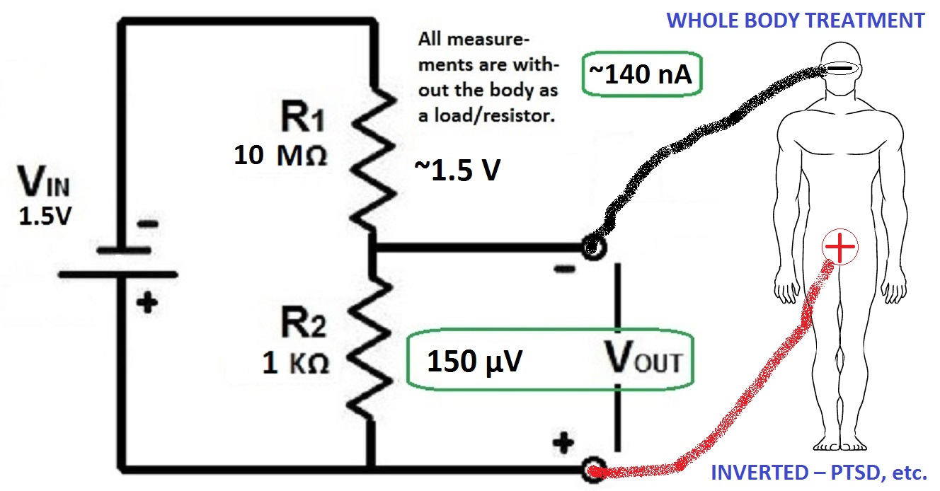 Regeneration Protocol Of Dr Robert O Becker Md What Is A Voltage Divider Circuit Application 4th Example Inverted